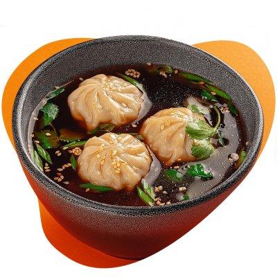 Шанхайский суп с дамплингами